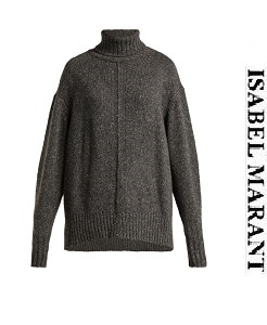 이자벨마랑 2018fw  Harriett oversized roll-neck cashmere sweater    (가격 문의 주세요)
